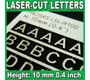 Proses LSL-A100 Laser-Cut Letters 10mm (1/2.5 inch)