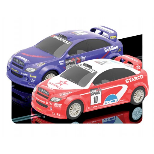 Scalextric Start Rally Twin Pack