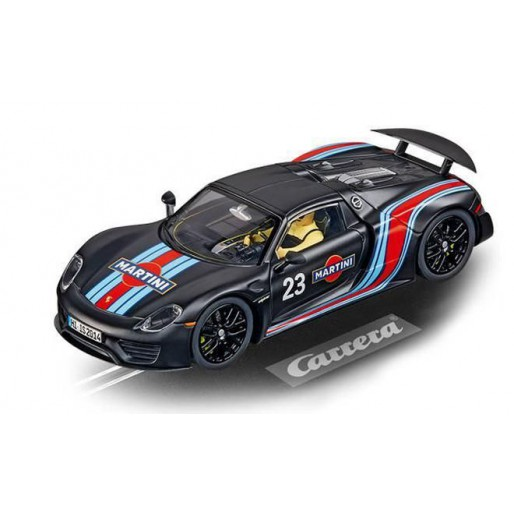 carrera digital 132 30691 porsche 918 spyder martini. Black Bedroom Furniture Sets. Home Design Ideas