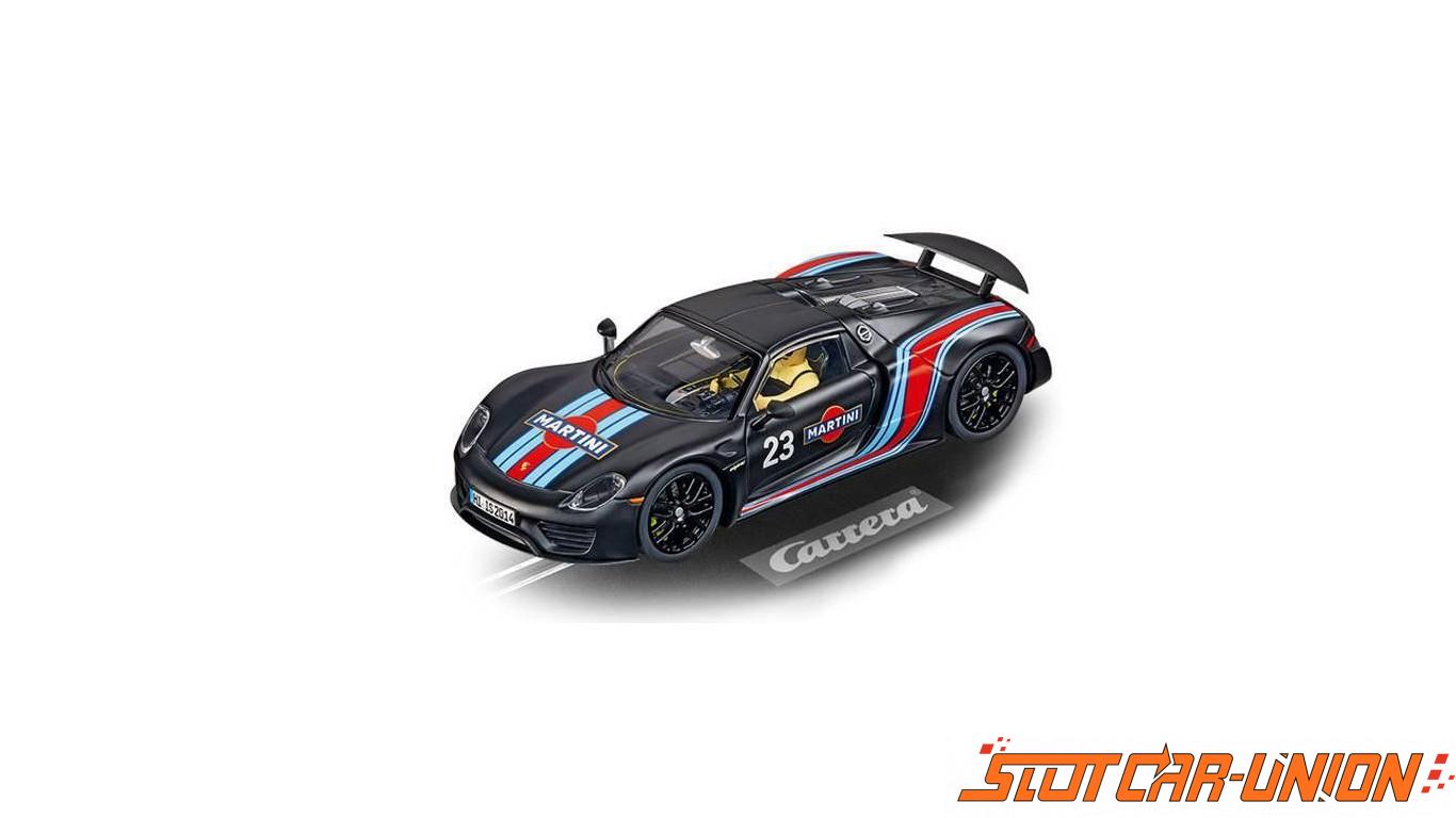 carrera digital 132 30691 porsche 918 spyder martini racing slot car union. Black Bedroom Furniture Sets. Home Design Ideas