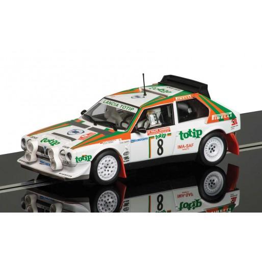 scalextric c3638 lancia delta s4 - slot car-union