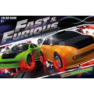 micro scalextric g1092 coffret fast furious slot car union. Black Bedroom Furniture Sets. Home Design Ideas
