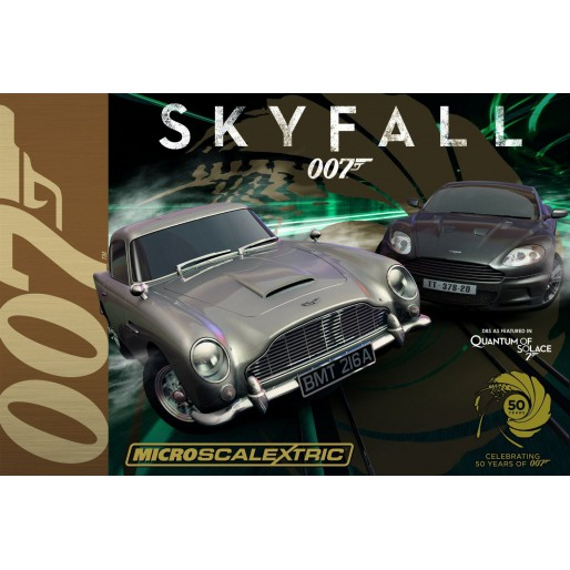 Micro Scalextric G1083 James Bond 007 Skyfall Set