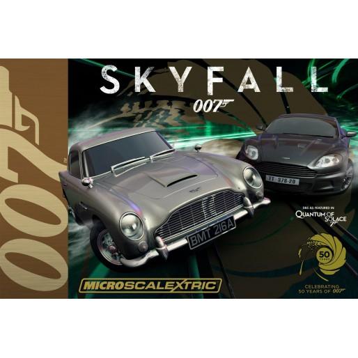 Micro Scalextric G1083 James Bond 007 Skyfall Set