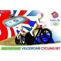 Micro Scalextric G1072 Coffret Velodrome Cycling