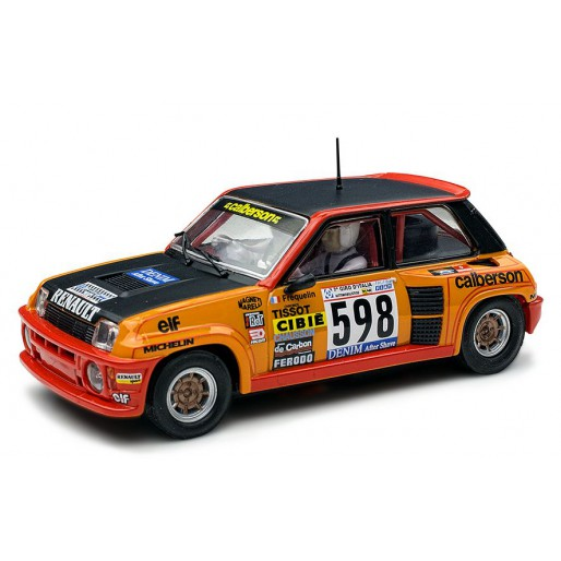 "Renault 5 Turbo: SCX Renault 5 Turbo ""Primer Rally 1979"" A10198X300"