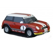 Micro Scalextric G2139 Mini Cooper, Red 1