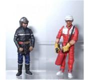LE MANS miniatures Figure Fire department & fireman