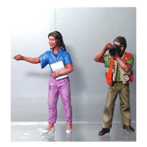 LE MANS miniatures Figure Journalist & photographer