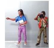 LE MANS miniatures Figurine Coffret reporters : Journaliste & photographe