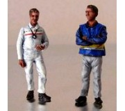 LE MANS miniatures Figurine Commissaire technique et contrôleur