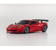 Kyosho Mini-Z MR03 Sports Ferrari 458 Italia GT2 Red Chrome (W-MM/KT19)