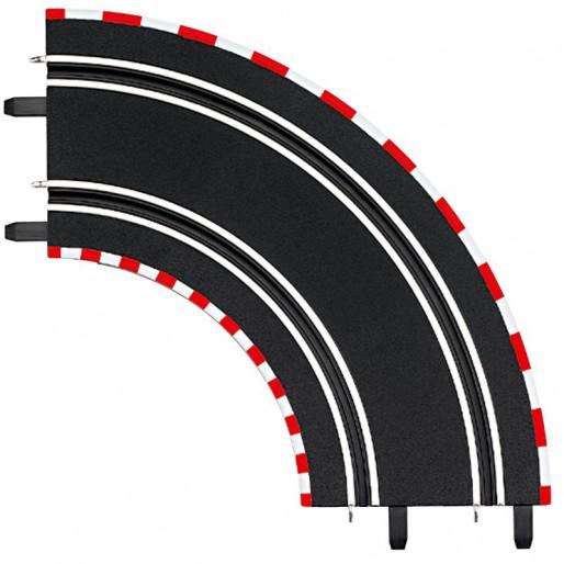 Carrera GO!!! 61603 Courbe Radius 1 90° x2