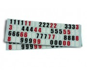 Scaleauto SC-9002 Race Numbers Decal Set