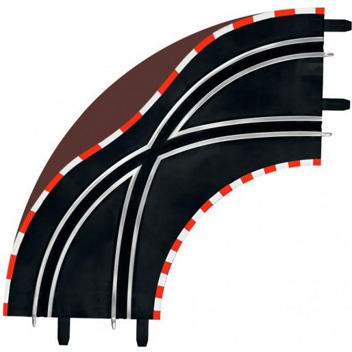 Carrera GO!!! 61655 Changement de Voie en Courbe Radius 1 90° x2
