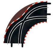 Carrera GO!!! 61655 Lane Change Courbe Radius 1 90° x2