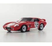 Kyosho Mini-Z MR03 Sports 2 Shelby Cobra Daytona Rouge (N-RM/KT19)