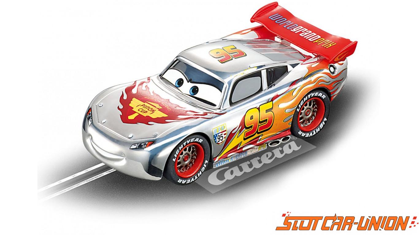 carrera go 61291 disney pixar cars silver lightning. Black Bedroom Furniture Sets. Home Design Ideas