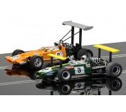 Scalextric C3589A Winged Legends Brabham BT26A & McLaren M7C