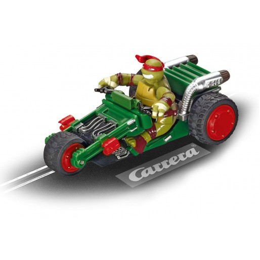 Carrera GO!!! 61286 Teenage Mutant Ninja Turtles - Turtle Trike, Raphael