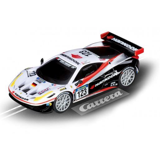 Carrera GO!!! 61212 Ferrari 458 Italia GT2, Hankook Team Farnbacher 2011 No. 123