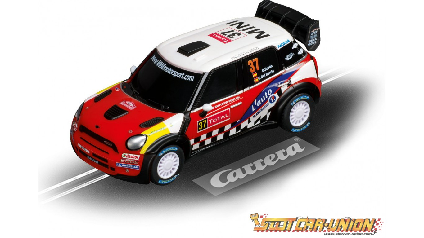 carrera go 61239 mini cooper countryman wrc daniel sordo slot car union. Black Bedroom Furniture Sets. Home Design Ideas