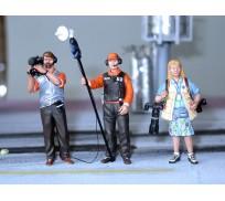 LE MANS miniatures Lot de Figurines Média