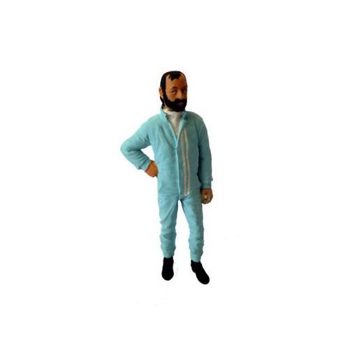 LE MANS miniatures Figurine Henri Pescarolo Le Mans 1973