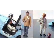 LE MANS miniatures Set of 3 figures Jo Siffert, Pedro Rodriguez & John Wyer