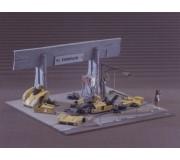 LE MANS miniatures Basic pit - Ferrari 333SP Le Mans 1995