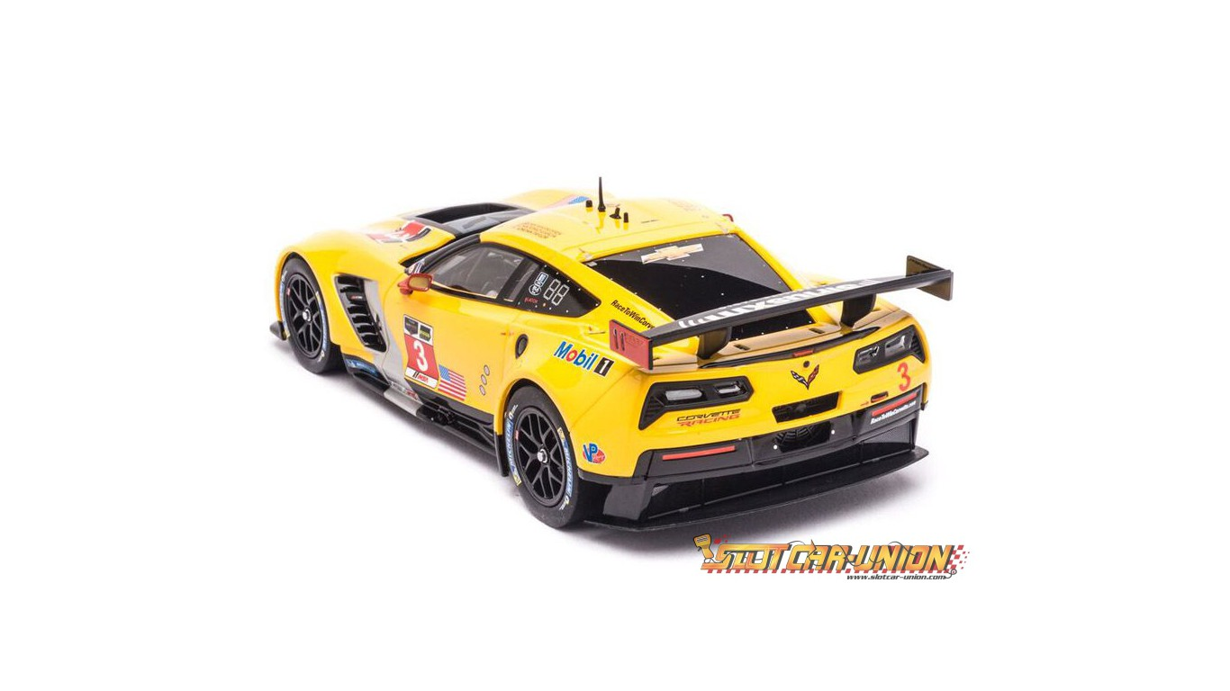 carrera digital 124 23818 chevrolet corvette c7 r no 3 slot car union. Black Bedroom Furniture Sets. Home Design Ideas