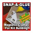 Proses PR-SS-01 Snap & Glue Magnetic Clamps x4