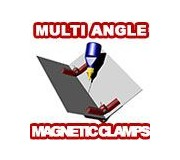 Proses PR-SS-04 Pinces Magnétiques Angle Réglable Snap & Glue x2