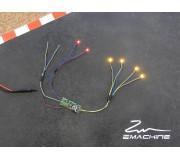 Zmachine Kit Lumière ZM161YQ32 Quadruple Jaune