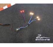 Zmachine Kit Lumière ZM160WQ32 Quadruple Blanc