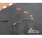 Zmachine Kit Lumière ZM160YQ32 Quadruple Jaune