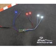 Zmachine Kit Lumière ZM161P32RB Police