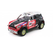 Scaleauto SC-6111 MINI All4 Racing Rally Dakar 2012 n.309