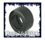 Ultimatt 261704 Urethane Tires G4 21x12mm