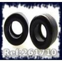 Ultimatt 261710 Urethane Tires G4 F1 for Carrera