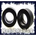 Ultimatt 261711 Urethane Tires G4 F1 for Scalextric