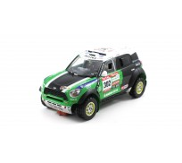 Scaleauto SC-6092 MINI All4 Racing Rally Dakar 2012 n.302 Winner Series