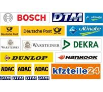 Slot Track Scenics DTML-A DTM Logos pack A