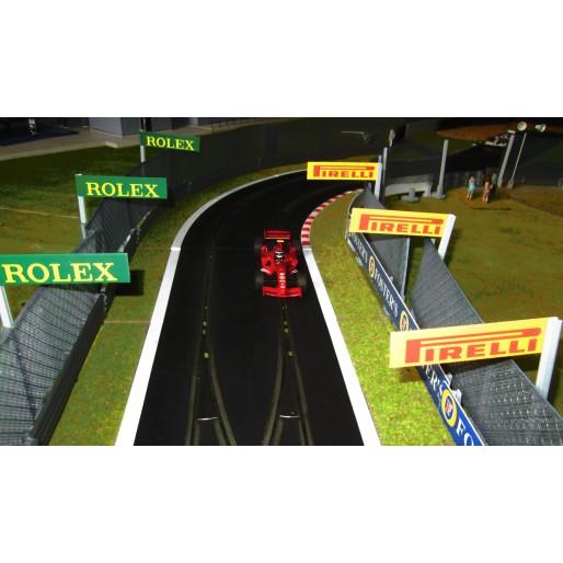 Slot Track Scenics Advert Boards 1 (Rolex + Pirelli)