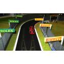 Slot Track Scenics Panneaux Publicitaires 1 (Rolex + Pirelli)