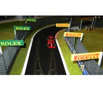Slot Track Scenics Advert Boards 1 (Rolex + Pirelli)