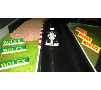 Slot Track Scenics Advert Boards 3 (Rolex + Pirelli)