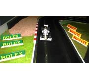 Slot Track Scenics Panneaux Publicitaires 3 (Rolex + Pirelli)