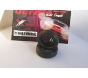 Ultimatt 261755 Urethane Tires Xtrem 21,6x6,4mm Classic