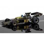 Scalextric C3703A Legends Team Lotus 72 (noir/or)